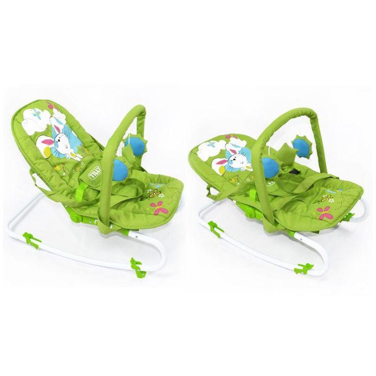Детский шезлонг-качалка Baby Tilly BT-BB-0001 Green  Цена: 30 AFN  Артикул: BT-BB-0001 Green  Детский шезлонг-качалка BT-BB-0001 не только развлечет вашего малыша, но так же обеспечит эму комфорт благодаря пяти положениям спинки, включая «лежа».  Подробнее о товаре на нашем сайте: https://prokids.pro/catalog/detskaya_mebel/kresla_kachalki_shezlongi/detskiy_shezlong_kachalka_baby_tilly_bt_bb_0001_green/