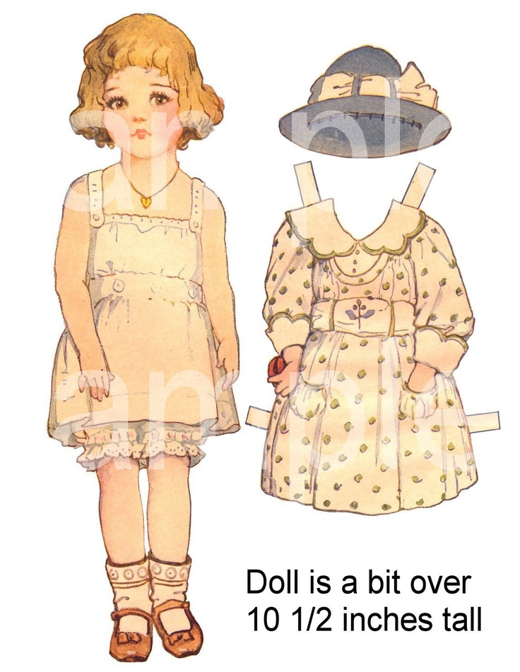 53 best images about paper doll party on pinterest for Large paper doll template