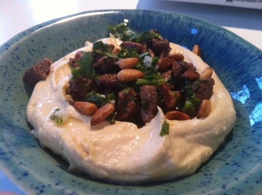 hummus , by yotton ottolenghi