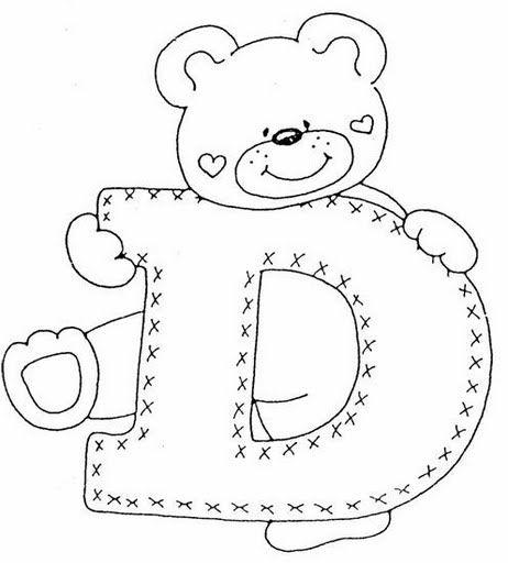 letras con osos - Buscar con Google