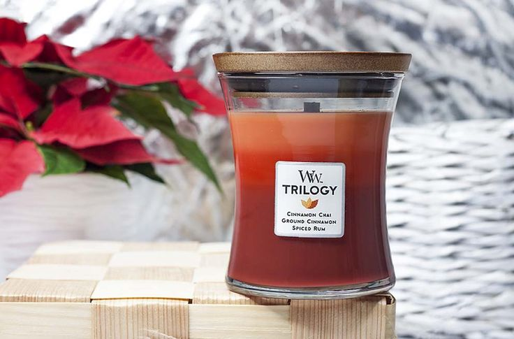 Wood Wick trilogy exotic spices