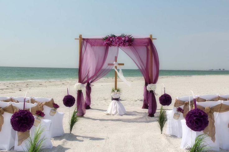 1000+ Ideas About Beach Wedding Arches On Pinterest