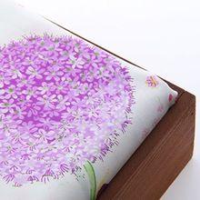 2015 NUEVO 50*160 CM de Impresión de Algodón de la Flor Púrpura Metros de Tela Patchwork Costura Textil Para Ropa Para Perros Sofá cortina D1-1-8(China (Mainland))