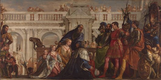 You can now watch a talk on Veronese's 'The Family of Darius before Alexander...