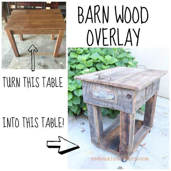 upcycled junk stůl s staré dřevěné překrytí, malovaný nábytek, dřevoobráběcí projekty