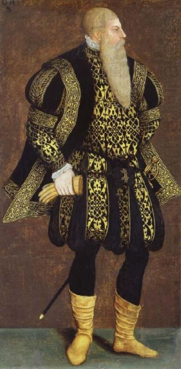 1550-1560 Unknown artist - King Gustav (Vasa) of Sweden