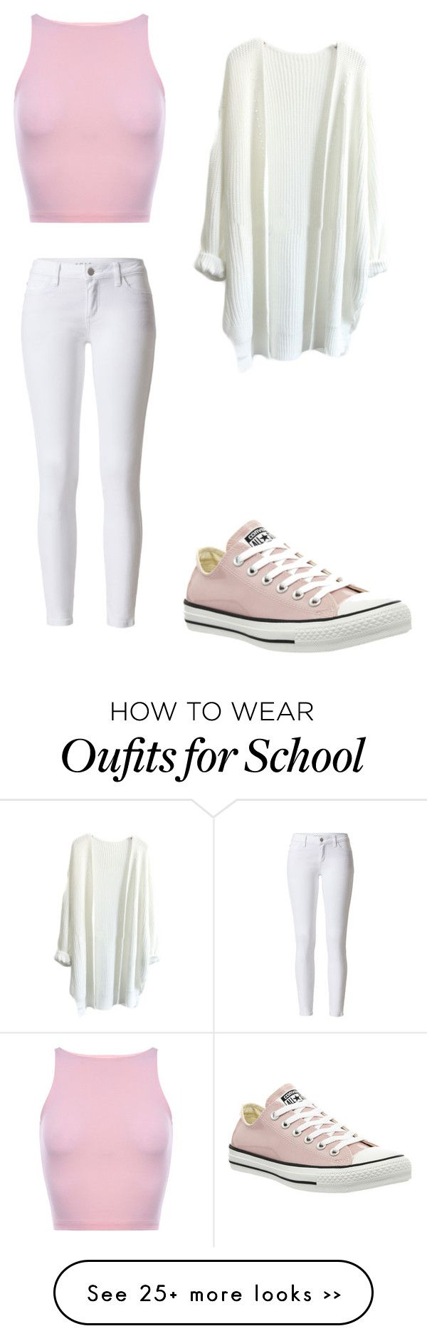 """School #95"" by bunnysarecute-876 on Polyvore"