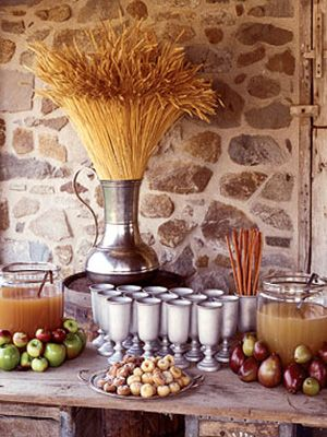 Apple Cider Station: Fall Decor, Wedding Ideas, Weddings, Apple Cider, Apples, Fall Wedding, Fall Party, Party Ideas