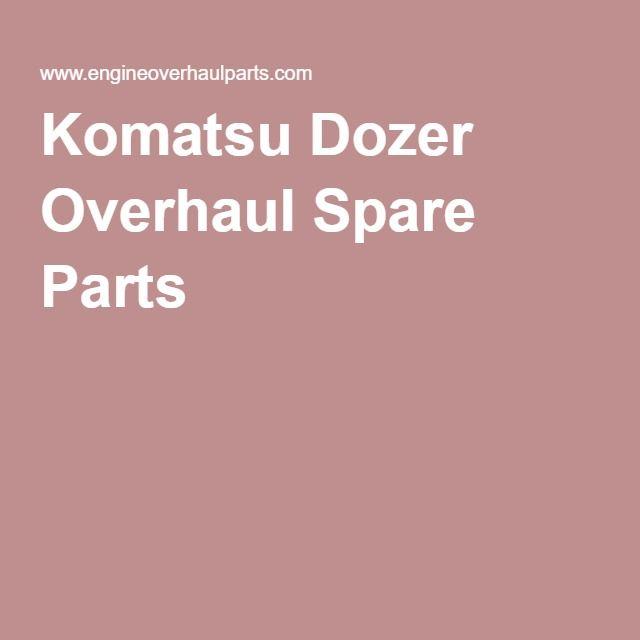 Komatsu Dozer Overhaul Spare Parts