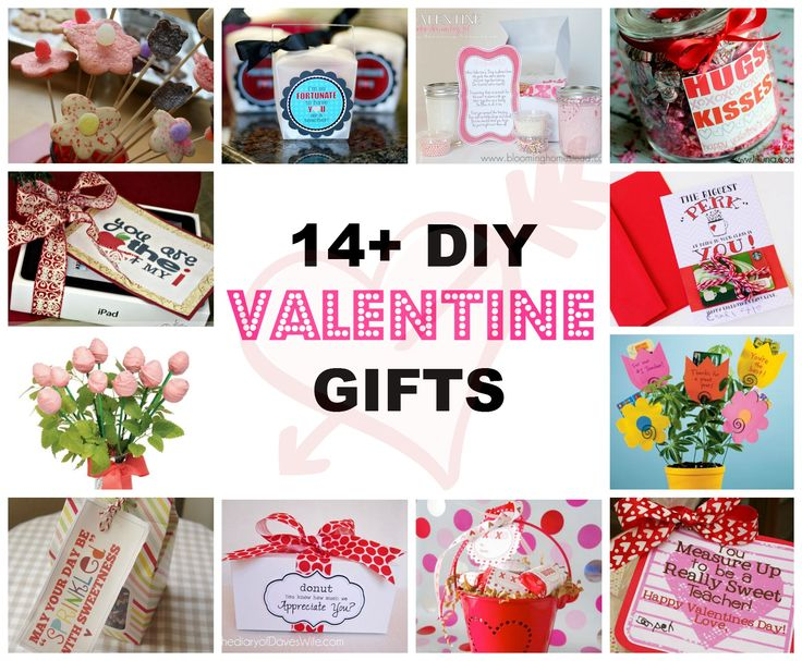 14+ Creative Ideas for DIY Homemade Valentine Gifts for Teachers and Other VIPs