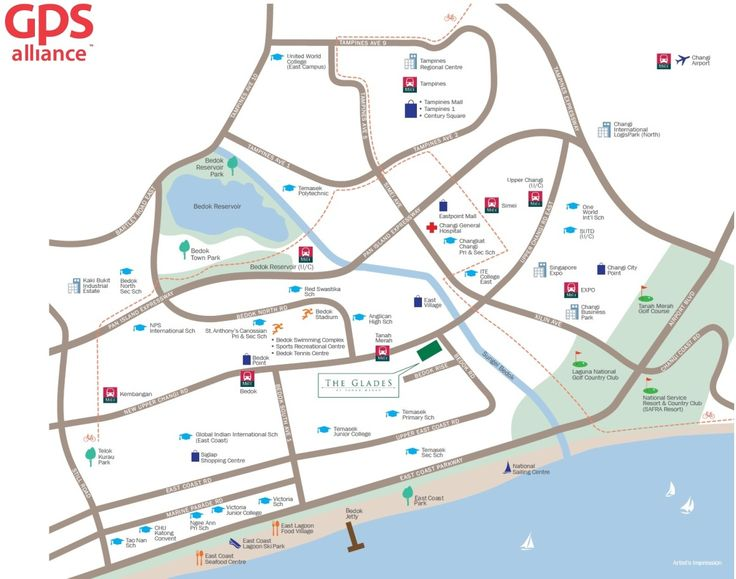 The Glades Condo - Location Map