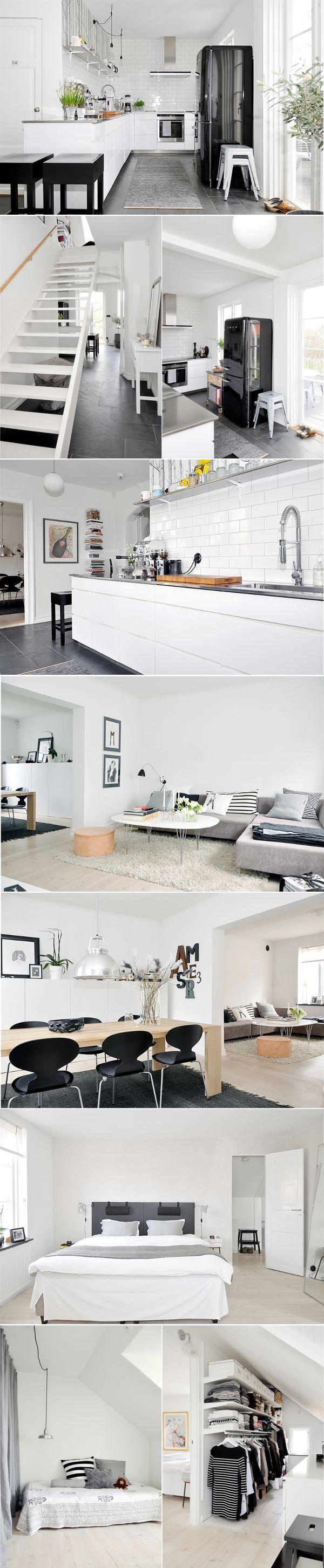 Black & White house ; Schöne Wohnung
