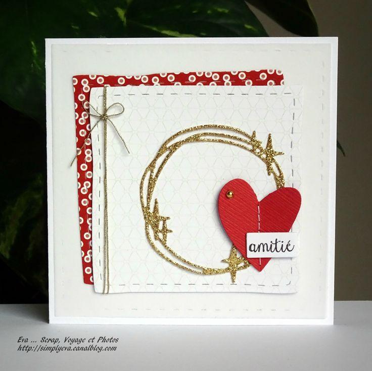 """Eva : Tampons et matrices de coupe (dies) #4enSCRAP """"Joyeuse St Valentin"""""""