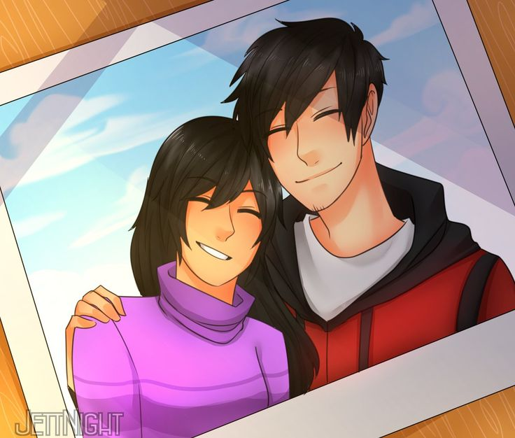 Aaron and Aphmau ❤