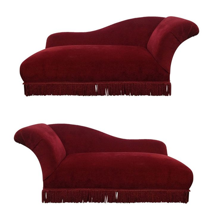 Two Art Deco Chaise Lounges | From a unique collection of antique and modern chaises longues at https://www.1stdibs.com/furniture/seating/chaises-longues/