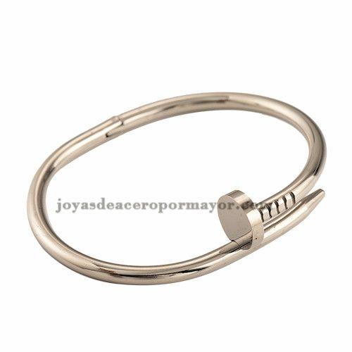 silver love screw braclet for women -SSBTG402059