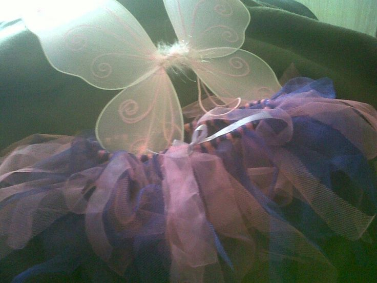 Pink purple tuty set