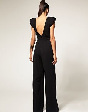 Enlarge Aqua Coco V Neck Jumpsuit