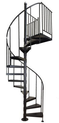 Best 25 stair kits ideas on pinterest - Exterior metal spiral staircase cost ...