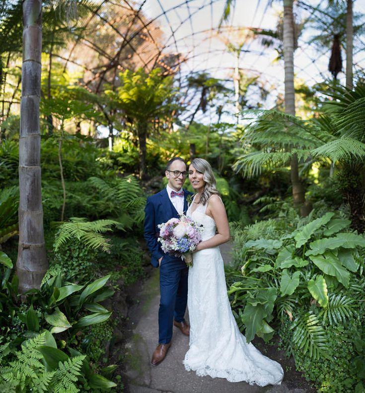 Charming Rippon Lea Wedding - Photo by Tony Evans http://www.tonyevansphoto.com.au/