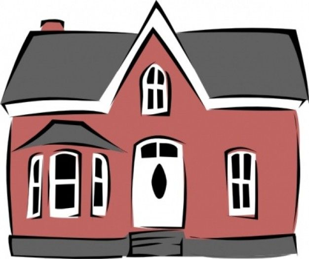 59 best Houses images on Pinterest  Cartoon house Clip art and