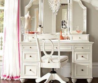 17 Extraordinary Ladies Makeup Vanity Picture Ideas