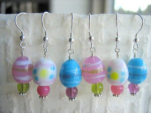 Pastel Easter Earrings Diy Easter Jewelry Diy Easter Earrings
