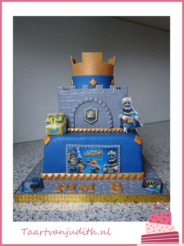 17 Best images about Clash Royal cake on Pinterest | Clash
