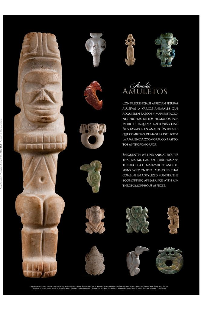Amulets from the book Jewels Of Taino Art from Vicini