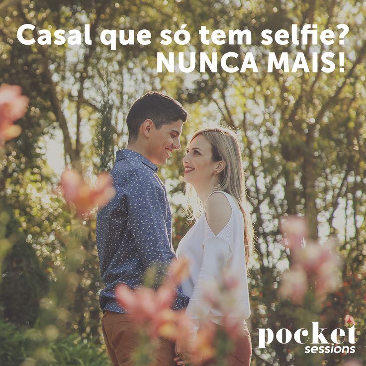 Amor, tira uma foto minha? Agora uma selfie!  NAAAAAAAAAAAAÃO! NUNCA MAIS ESSA CONVERSA depois que você conhecer as nossas mini sessões fotográficas!    Conheça as #PocketSessions e agenda agora mesmo sua sessão fotográfica!    #FotoVilasBoas ♥ #AmoresQueInspiram
