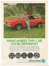 Vintage 1974 Appliance Wheels Ford Pinto Print Ad in Collectibles, Advertising, Automobiles, American, Ford | eBay
