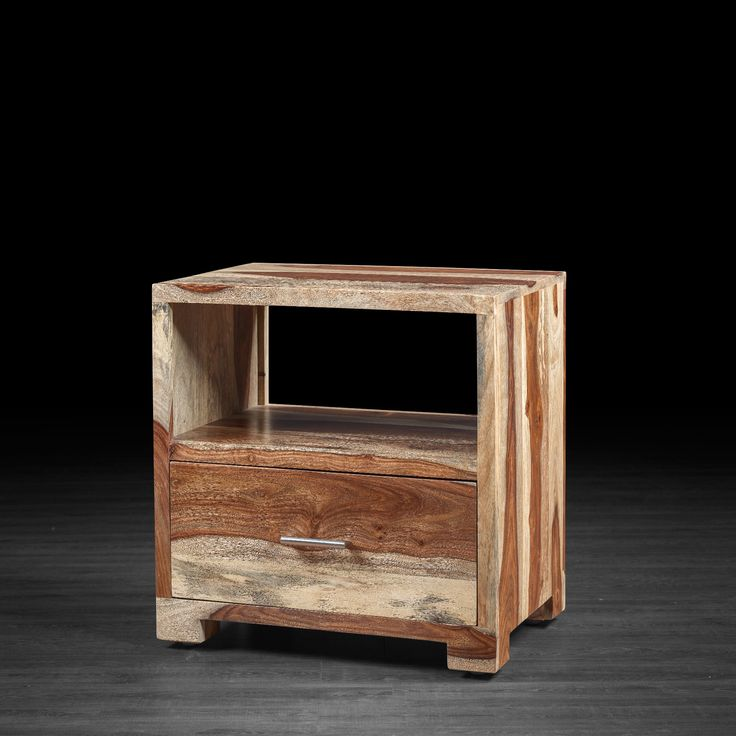 Bella Night Table Made of Rosewood
