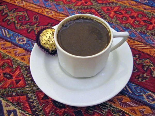 #istanbul #turkish #coffee #served #bazaar #turkey…