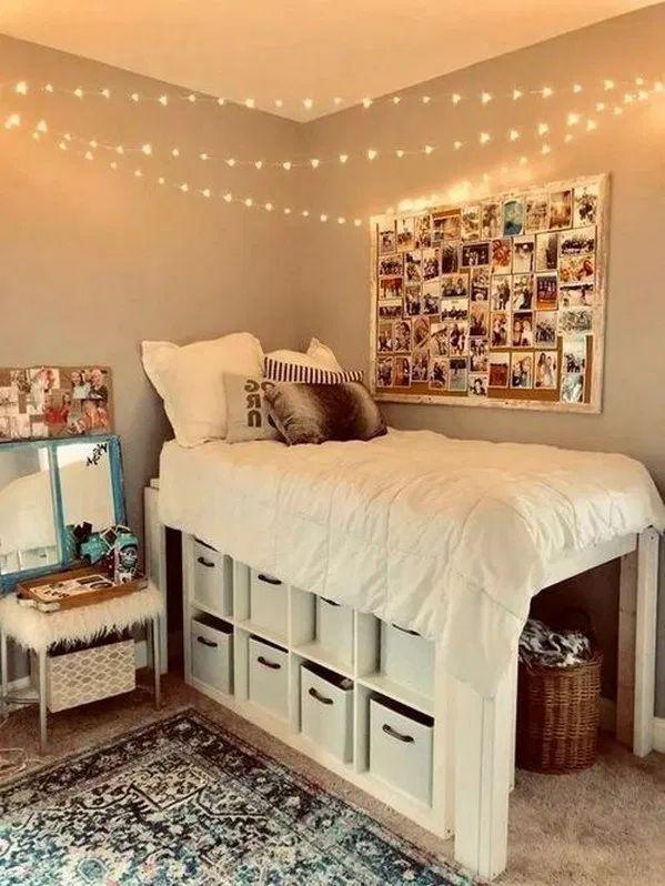 65+ fantastic college dorm room decor ideas and remodel ...