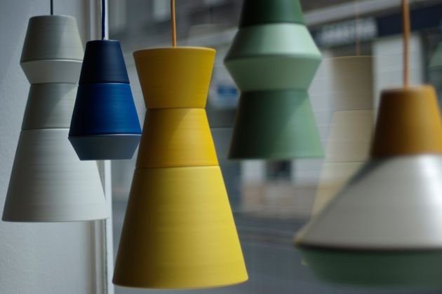 ILI-ILI, pendant light series - new comer from Grupa Products (2012). Photo: T. Bartakovic.