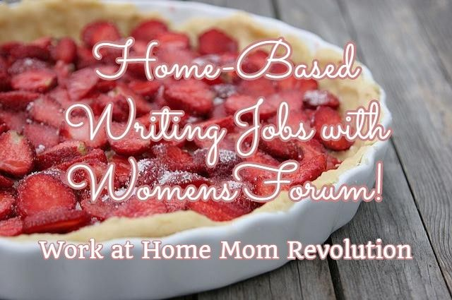home based writing jobs womensforum work at home mom  home based writing jobs womensforum work at home mom revolution