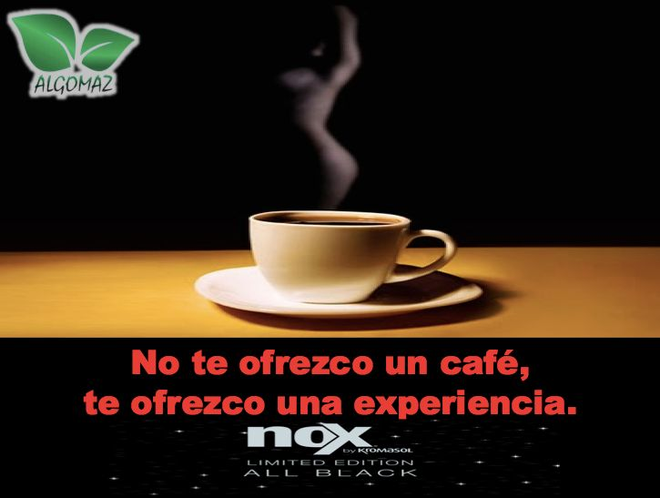 No te ofrezco un café, te ofrezco una experiencia