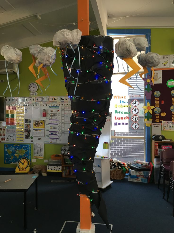 Our tornado for 'Wild and Wacky Weather' unit