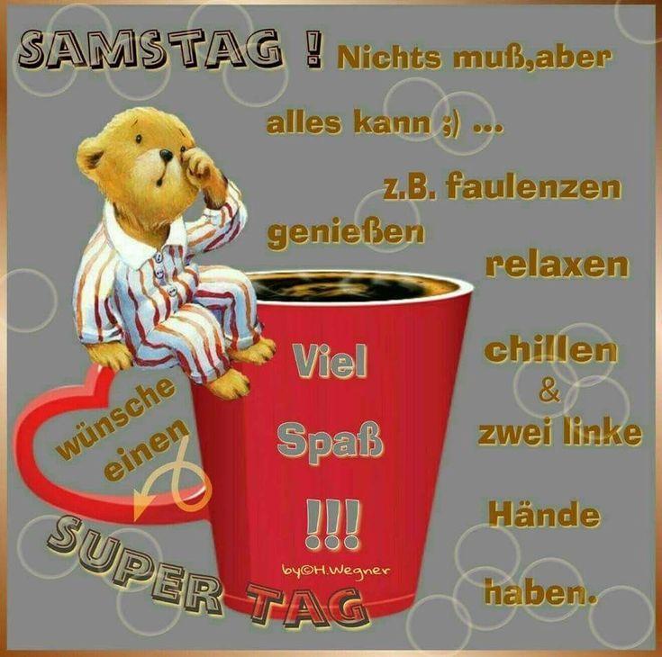 Dir Einen Schönen Samstag Samstagsgrüße Guten Morgen