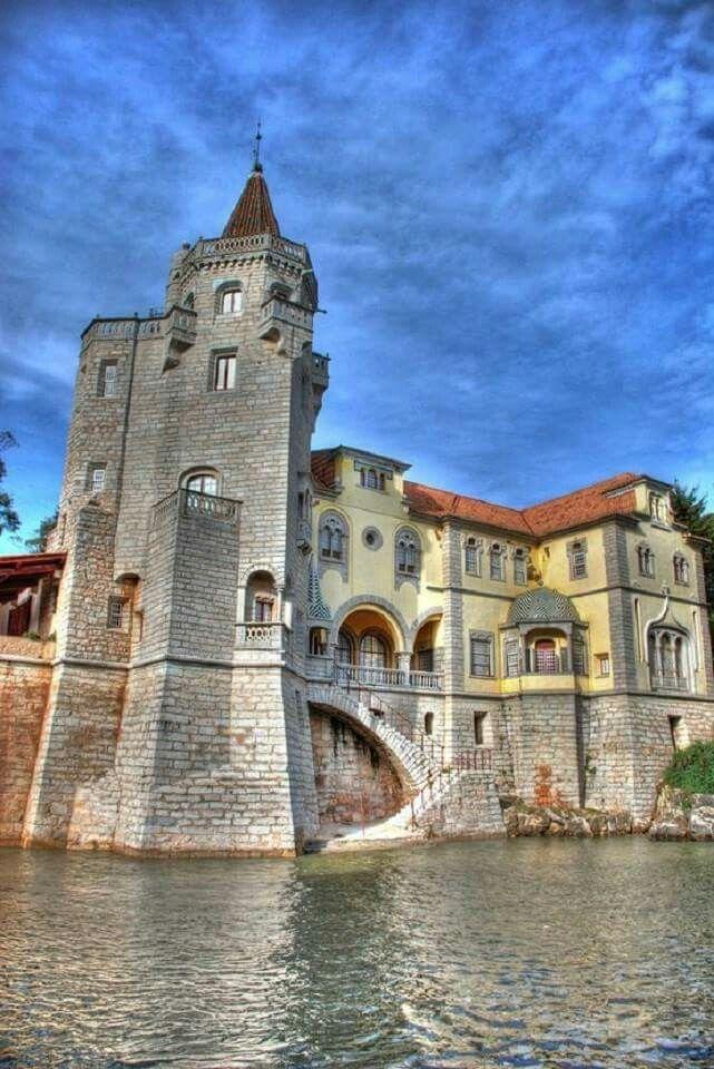 Castle in Cascais, Portugal.                                                                                                                                                                                 More