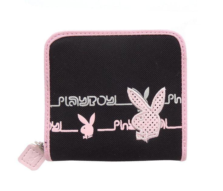 Peňaženka Playboy Basic Black