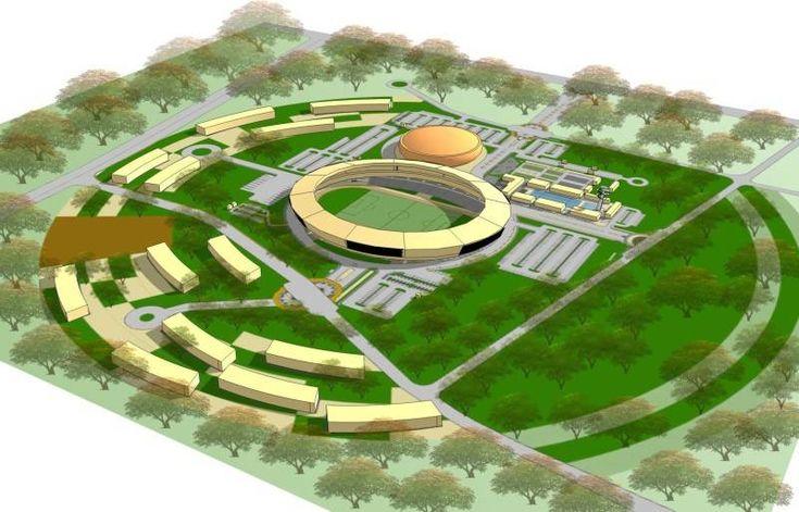 Sentani Sport Hall  Design by Aristokrasi Prima Rivan Consultan