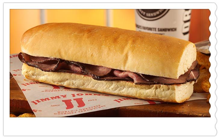 Slim 2 Jimmy Johns Gourmet Sandwiches Fast Healthy Meals Food
