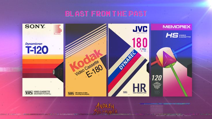 It's a blast from the past with these VHS tapes. After posting my last work I made I decided to work on some more Blank VHS tapes from the past and…