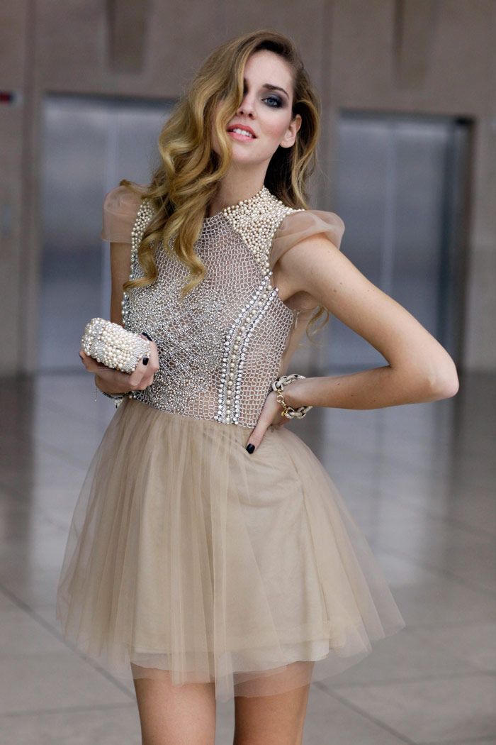 Chiara Ferragni in Patricia Bonaldi dress and clutch_002