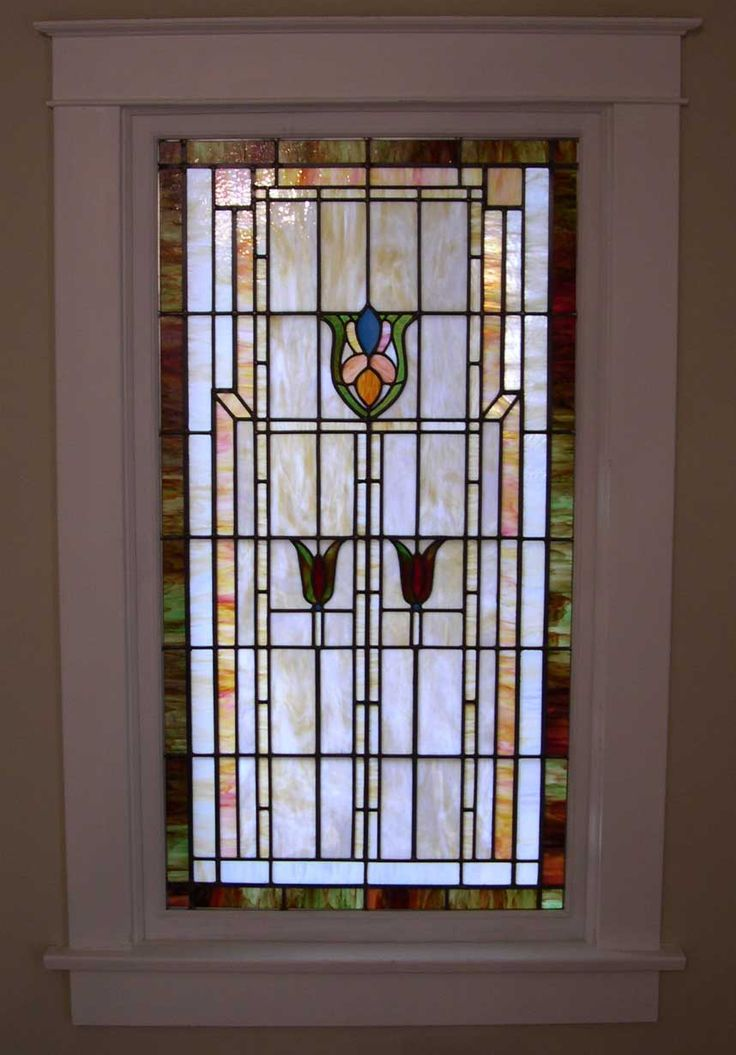 Craftsman Era Stained Glass Windows - Google Search