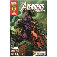The Avengers United #76 from Marvel/Panini Comics UK. 7th March 2007 issue. In very good condition internally and cover. Bagged and boarded. £2.00
