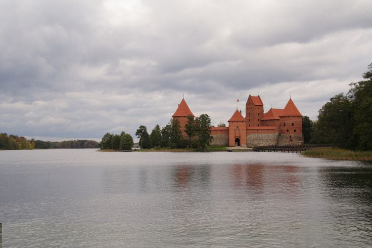 The perfect fairy tale castle in Lithuania.