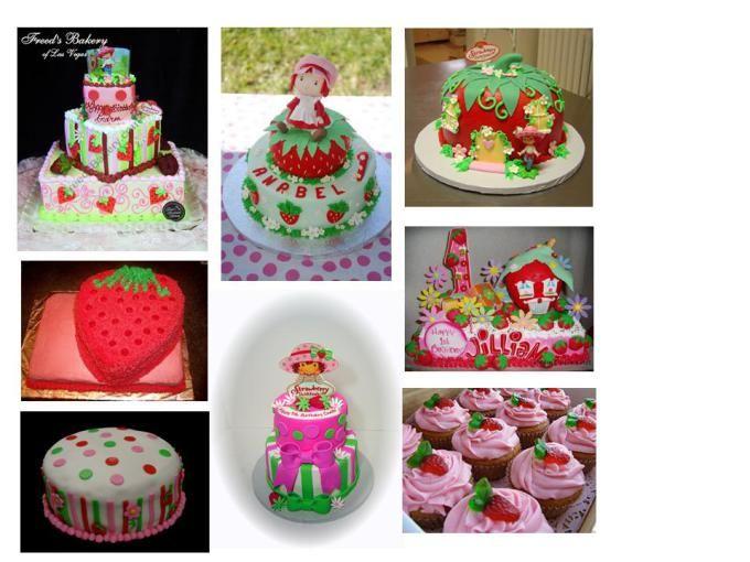 Fiesta de Rosita Fresita pasteles cakes y tortas
