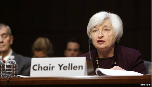 Fed chief Yellen says slack remains in US jobs market